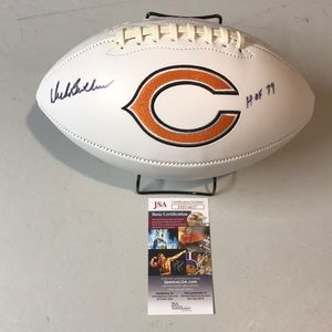 Dick Butkus  Signed Bears HOF  Football JSA